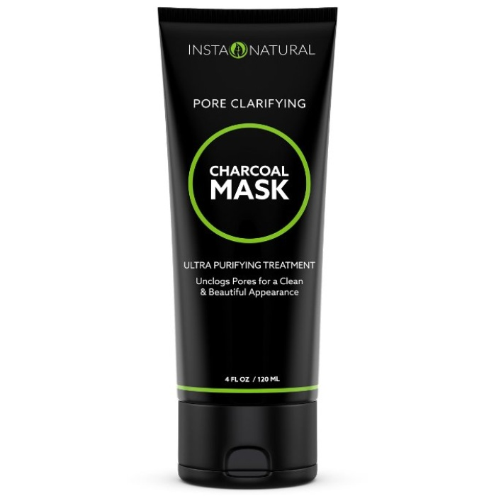 Best Charcoal Face Masks - InstaNatural Charcoal Mask