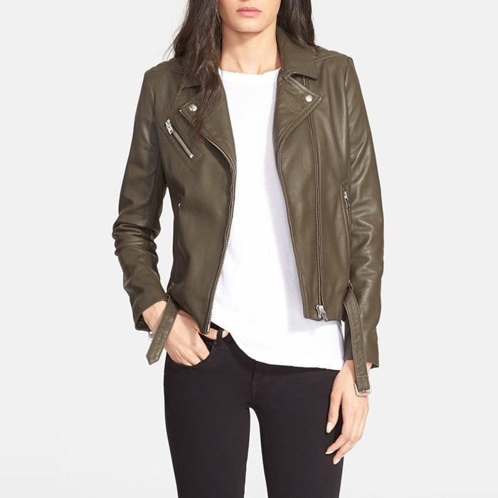 Best Moto Jackets - IRO Jone Leather Biker Jacket