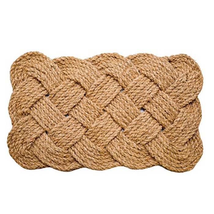Best Doormats - Iron Gate Natural Jute Rope Woven Doormat