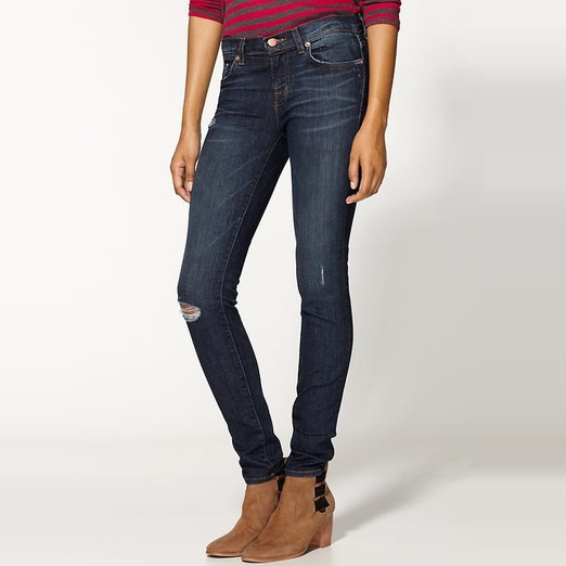 Rag & Bone/Jean The Ripped Skinny Jeans | Rank & Style
