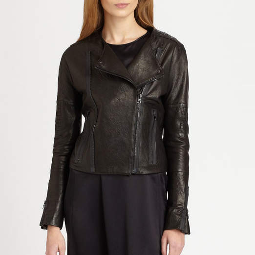 Best Leather Jackets - J Brand Ready-To-Wear Marie Quilted Jacket
