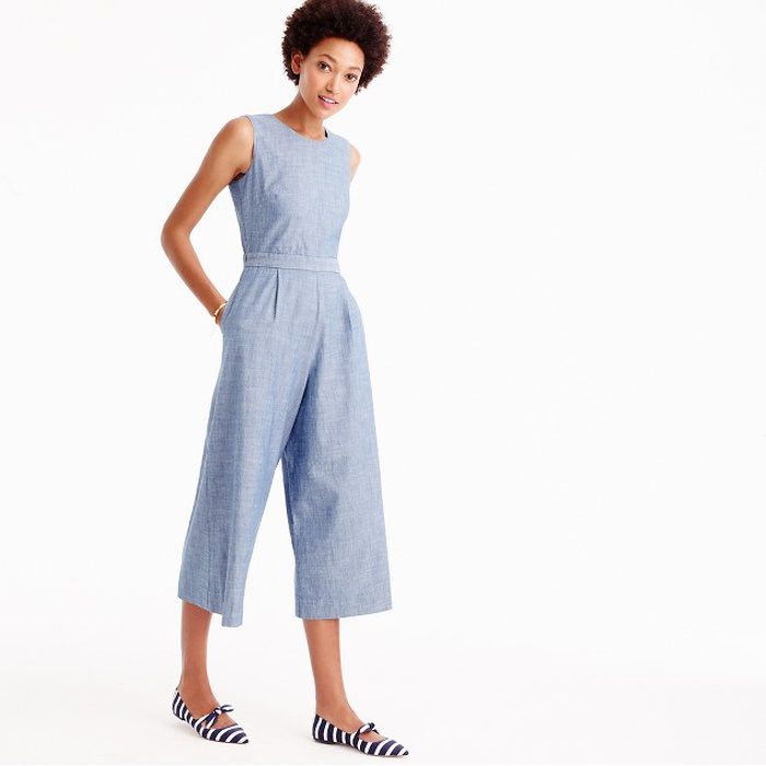 Best Jumpsuits - J. Crew Chambray Jumpsuit