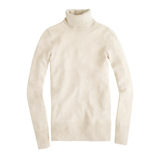 Best Cashmere Sweaters - J. Crew J.Crew Collection Cashmere Turtleneck Sweater