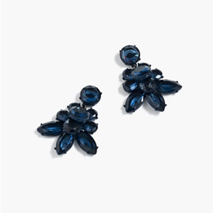 Best Statement Earrings Under $50 - J. Crew Oversized Crystal Earrings