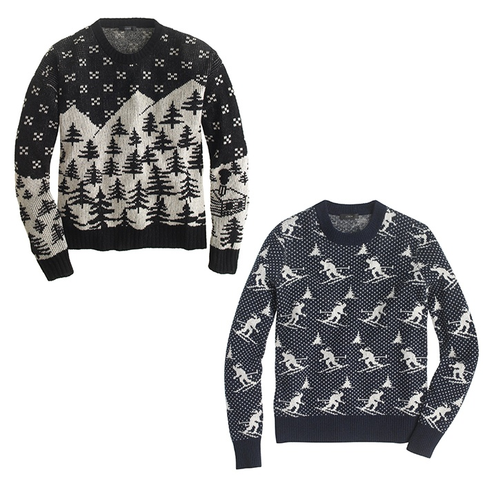 Best For the Ski Bunnies and Snow Angels - J. Crew Patterned Ski Sweaters