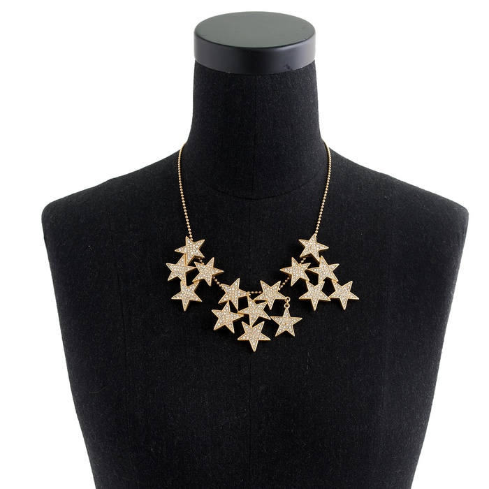 Best Crystal Statement Necklaces - J.Crew Star Cluster Necklace