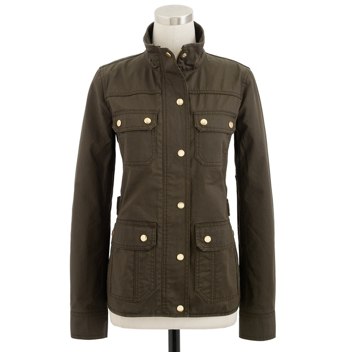 Best Military Style Coats - J.Crew The Downtown Field Jacket