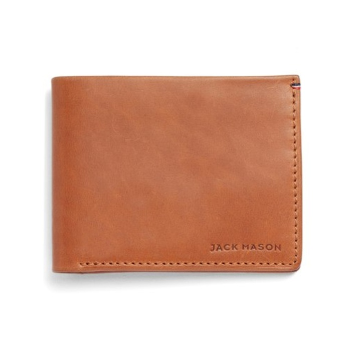Best 10 Trending Gifts for The Guy With Style - Jack Mason Brand Vaccetta Lux Leather Wallet