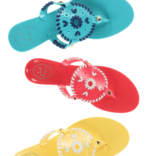 Best Thong Sandals - Jack Rogers Georgica Jelly