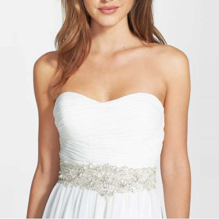 Best Bridal Belts - James Clifford Collection Faux Pearl Beaded Belt