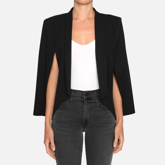 Best Blazers - James Jeans Cape Blazer
