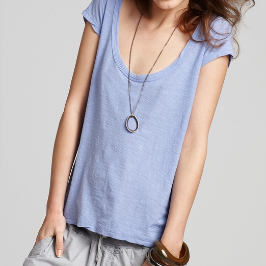 Best Tees - James Perse Cap Sleeve Casual Tee