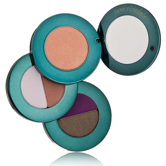 Best Eyeshadows for Your Eye Color - Jane Iredale Eye Steppes in GoGreen