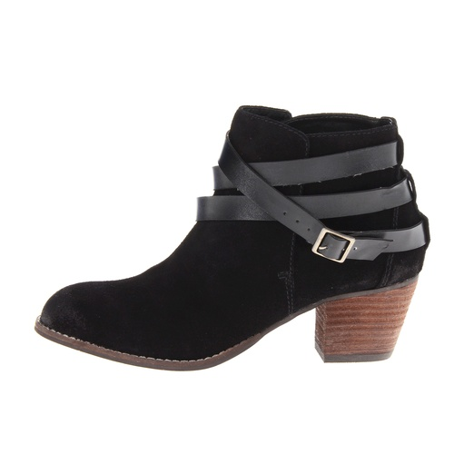 Jeffrey Campbell Brit Wrap Strap Booties | Rank & Style