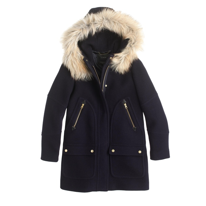 Best Wool Coats Under $500 - J.Crew Chateau Parka