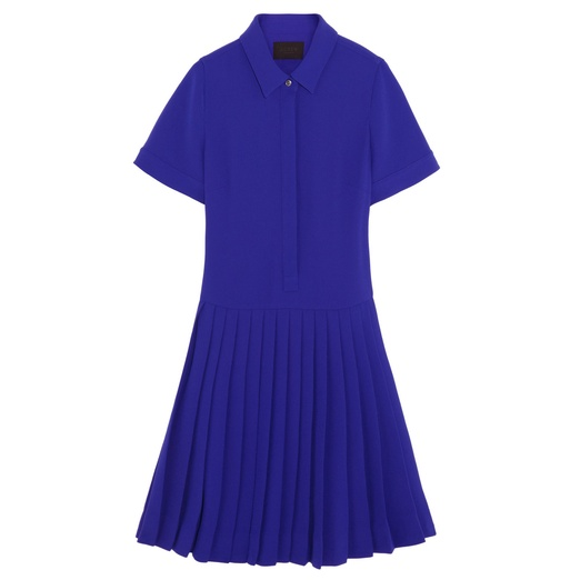 Best Shirt Dresses - J.Crew Collection pleated crepe shirt dress