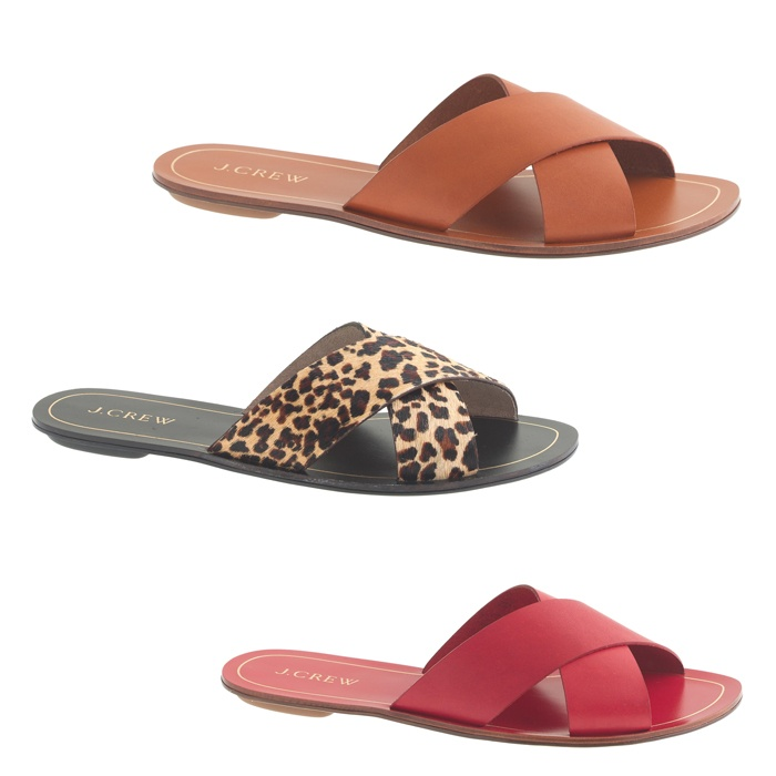 Best Winter Beach Break Shoes - J.Crew Cyprus Sandals