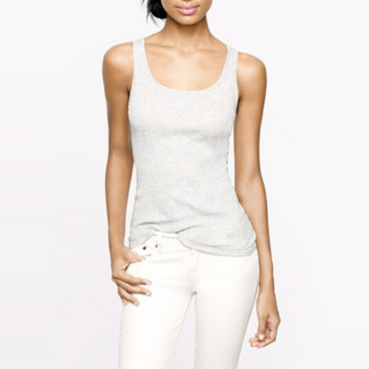 Best Solid Colored Tanks - J.Crew Favorite Tank