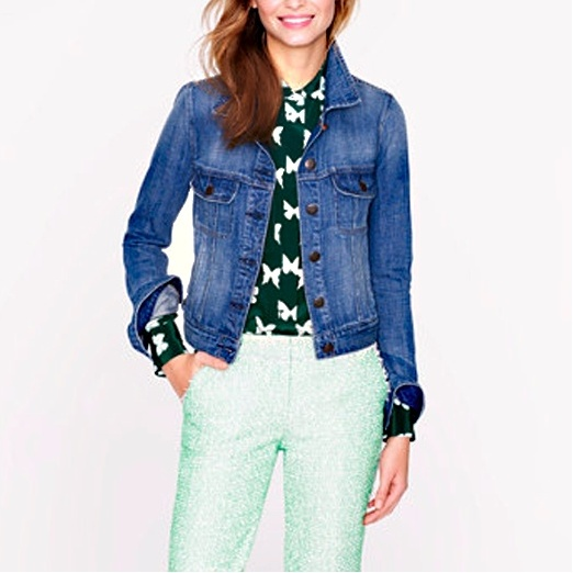 Best Denim Jackets - J.Crew Nolita Jacket in Indigo