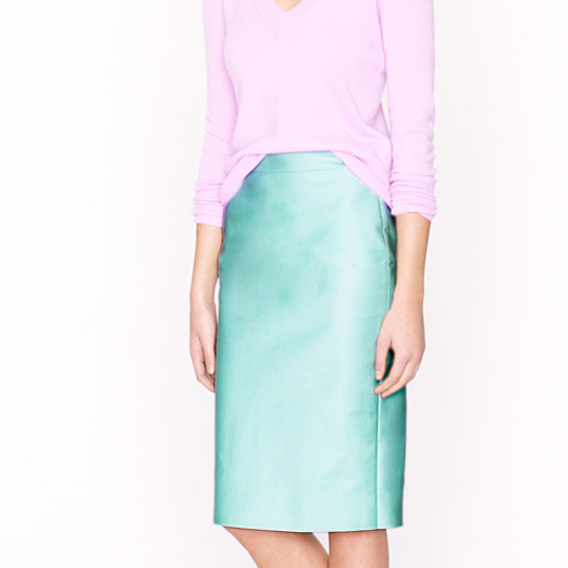 Best Pencil Skirts - J.Crew No. 2 Pencil Skirt in Double-Serge Cotton