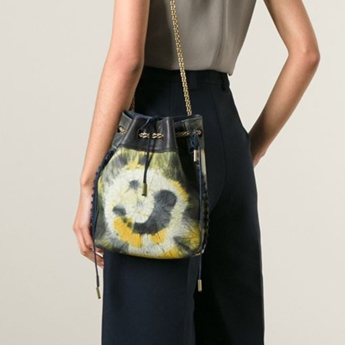 Best The Ten Best in Tie-Dye Fashion - Jerome Dreyfuss Gary Tie and Dye Boubou Bag