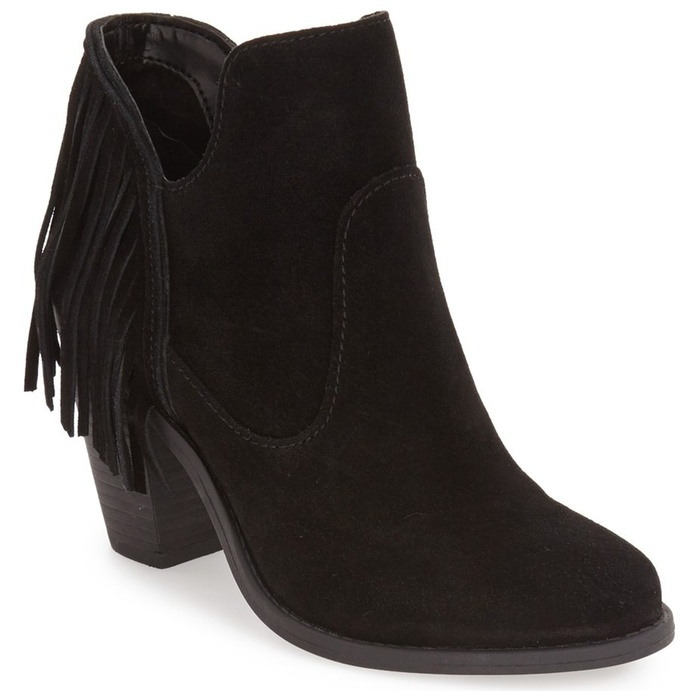 Best Booties On Sale - Jessica Simpson Cecila Fringe Bootie