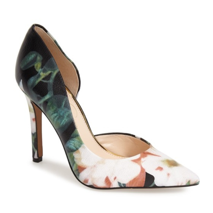 Best Comfortable Heels Under $100 for Weddings - Jessica Simpson 'Claudette' Pump