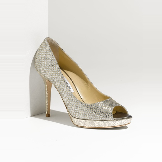 Best Party Shoes - Jimmy Choo Luna Open Toe Pump