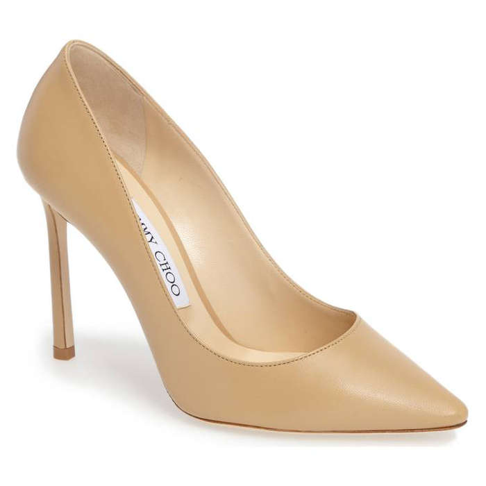 Best Nude Pumps - Jimmy Choo Romy Pump