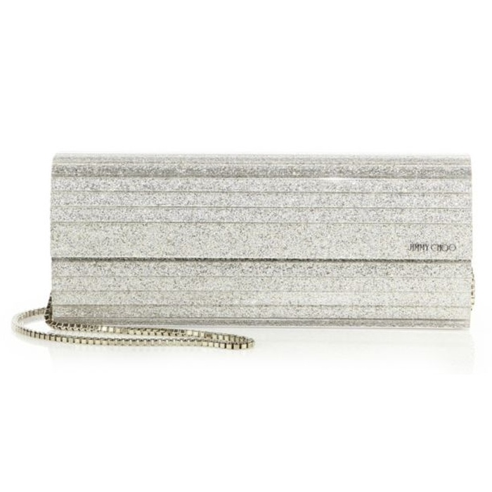 Best Bridal Handbags - Jimmy Choo Sweetie Glitter Acrylic Clutch