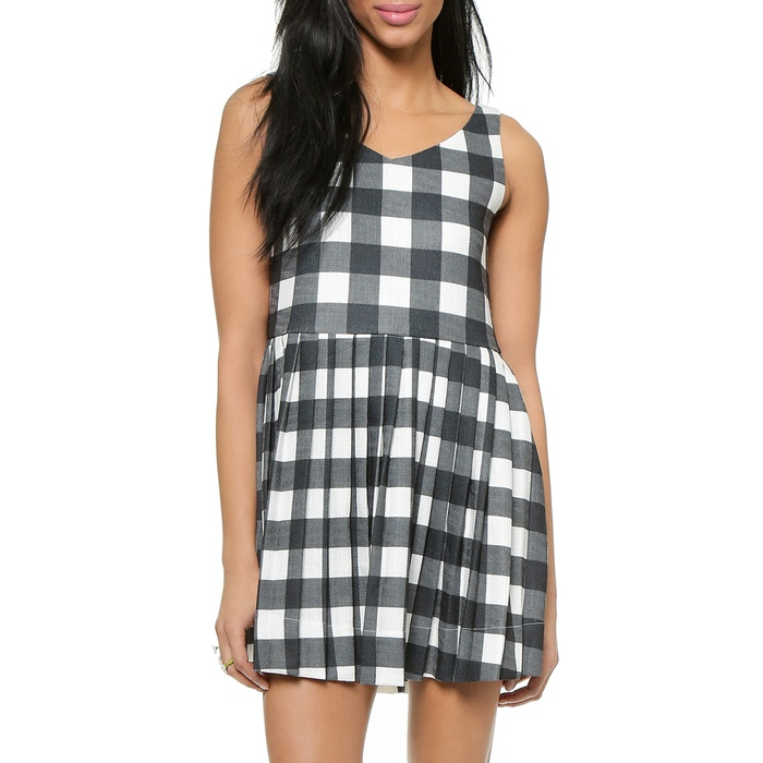 Best Printed Dresses Under $100 - J.O.A. Gingham Dress