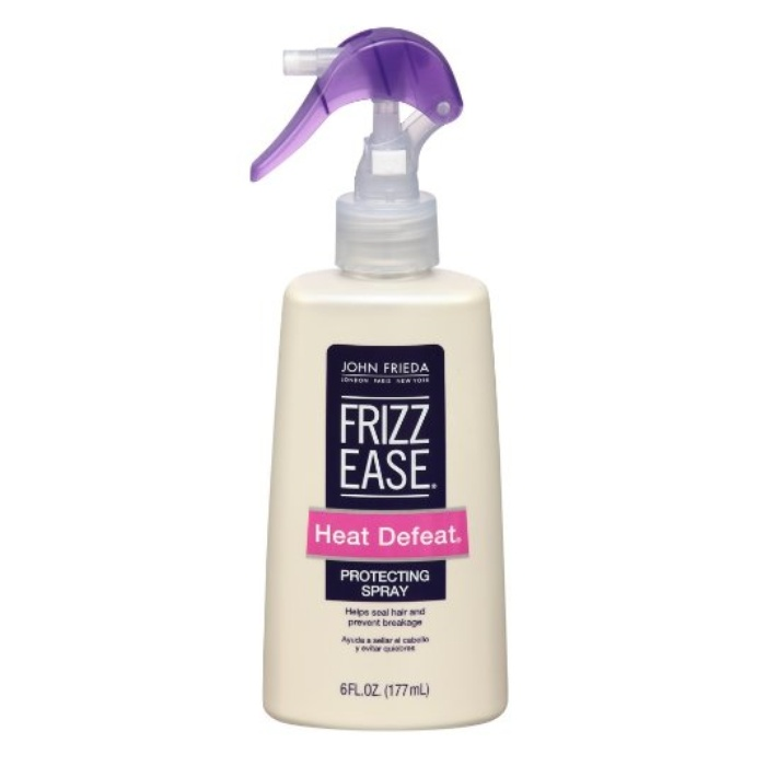 Best Ten Ways to Protect Your Hair - John Frieda Frizz Ease Heat Defeat Protective Spray