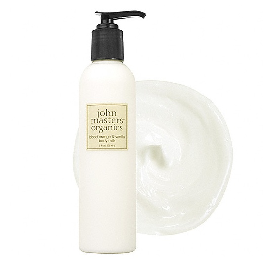 Best Natural Body Creams - John Masters Organics Blood Orange & Vanilla Body Milk