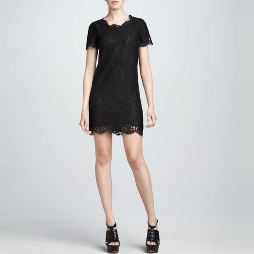 Best Lace Dresses - Joie Susina Lace Mini Dress