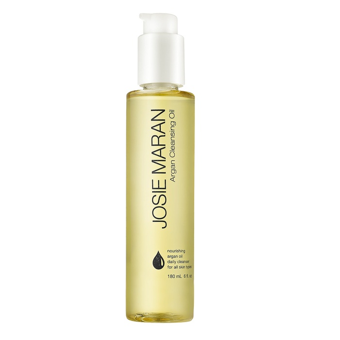 Best Natural Face Cleansers - JOSIE MARAN Argan Cleansing Oil