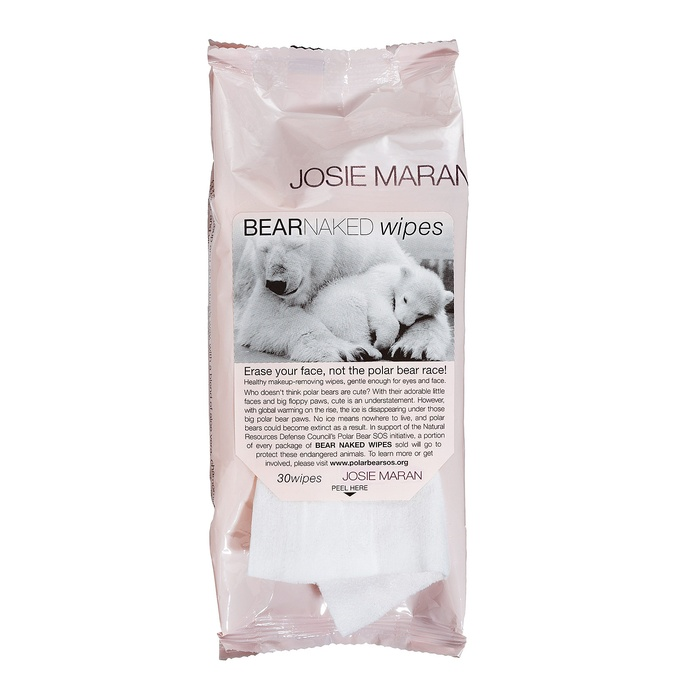 Best Facial Cleansing Towelettes - Josie Maran Bear Naked Wipes