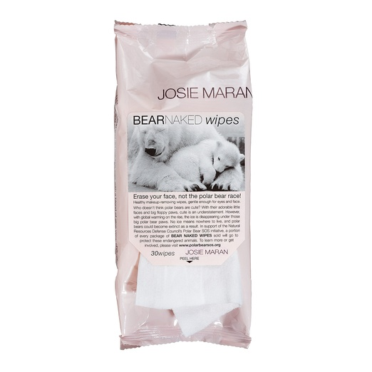 Best Facial Wipes - Josie Maran Bear Naked Wipes