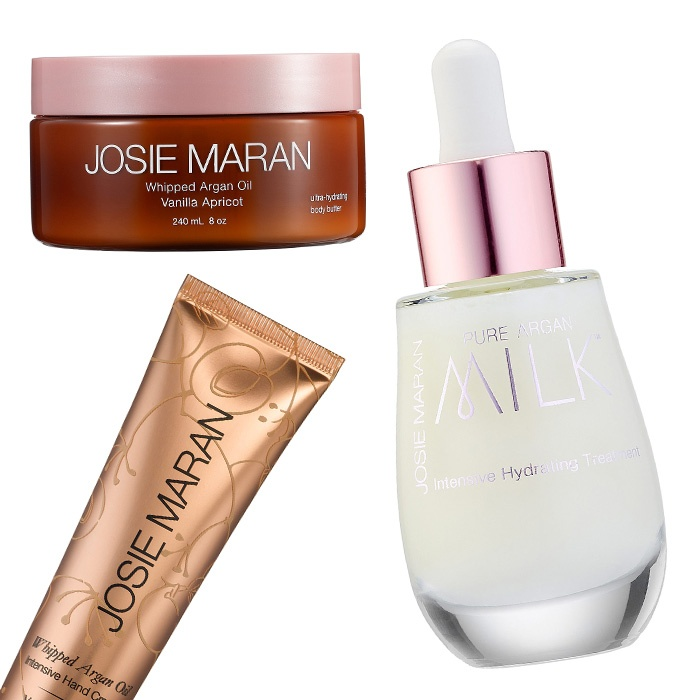 Best Ten ways to treat your Valentine - Josie Maran Whipped Argan Oil Intensive Hand Cream and Ultra-Hydrating Body Butter; Pure Argan Milk™ Intensive Hydrating Treatment