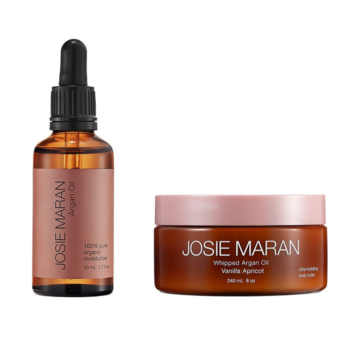 Best The Ten Best Argan Oil Products - Josie Maran Whipped Argan Oil Ultra-Hydrating Body Butter & 100% Pure Argan Oil