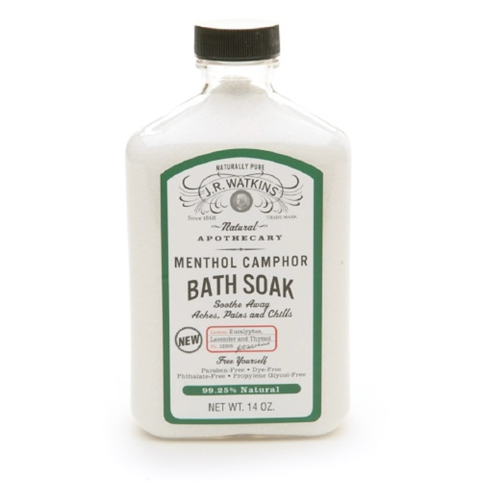 Best Bath Soaking Salts - J.R. Watkins Naturals Menthol Camphor Bath Soak
