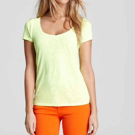 Best Tees - Juicy Couture Basic V Neck Tee