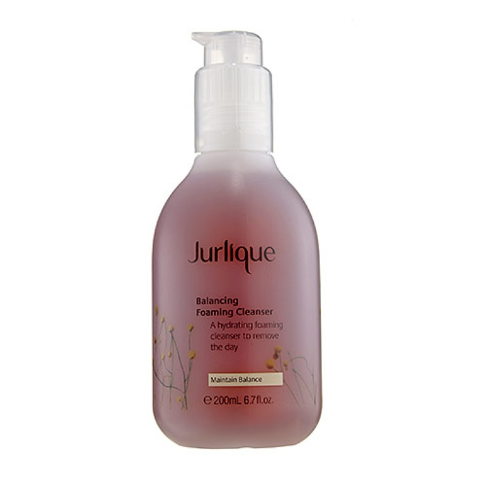 Best Face Cleansers for Sensitive Skin - Jurlique Balancing Foaming Cleanser