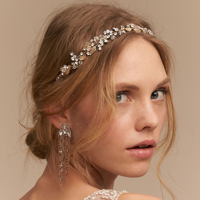 Best Bridal Hair Accessories - Justin & Taylor Kassia Halo