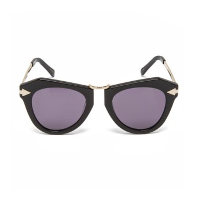 Best Sunglasses For A Round Face - Karen Walker One Orbit Sunglasses