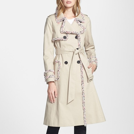 Best Trendy Trench Coats - Kate Spade New York Fontaine Belted Trench