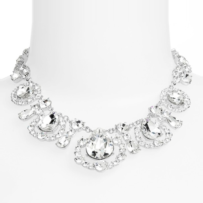 Best Crystal Statement Necklaces - Kate Spade New York Grand Debut Collar Necklace