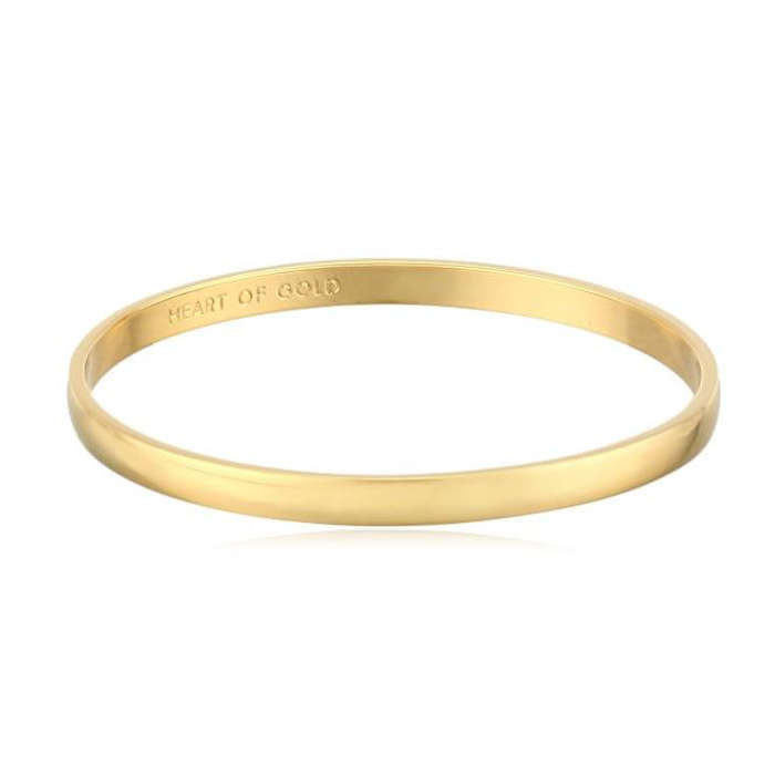 Best Gifts Under $50 on Amazon - Kate Spade New York Heart of Gold Bangle