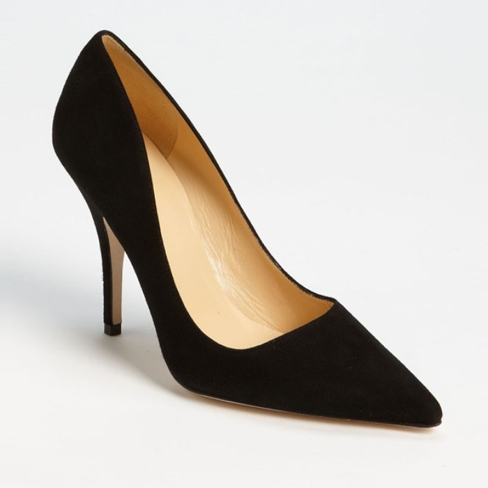 Best Black Suede Winter Pumps - Kate Spade New York 'Licorice Too' Pump