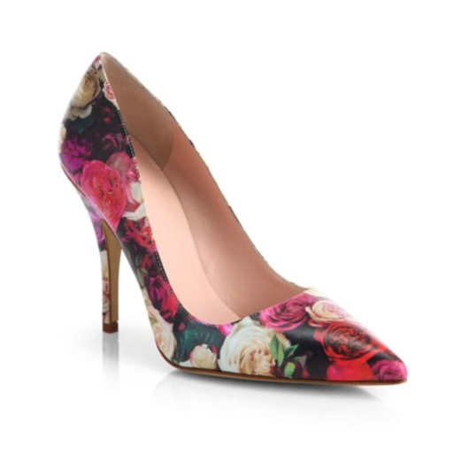 Best Floral Pumps - Kate Spade New York Licorice Too Pump