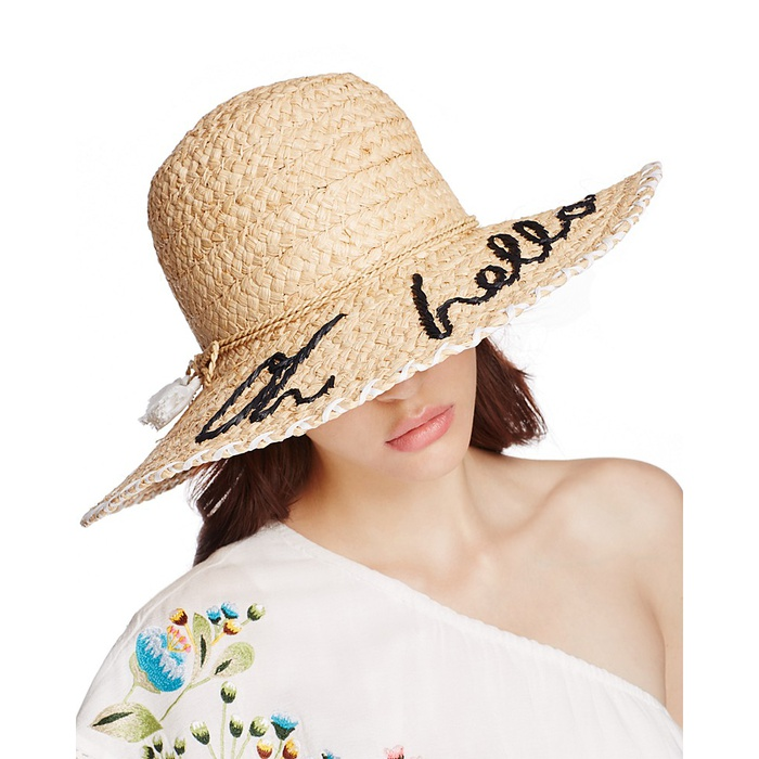 Best Straw Hats - Kate Spade New York Oh Hello Sunhat